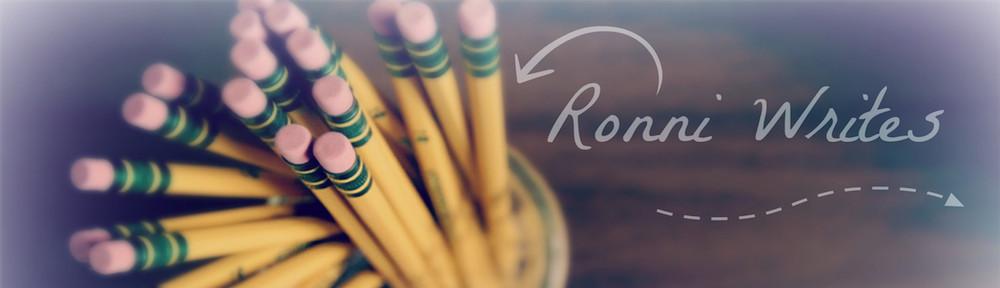 Ronni Writes